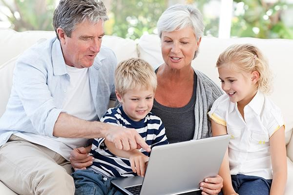 Easy Ways to Help Older Grandparents with Technology