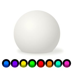 soft glow timer with colors