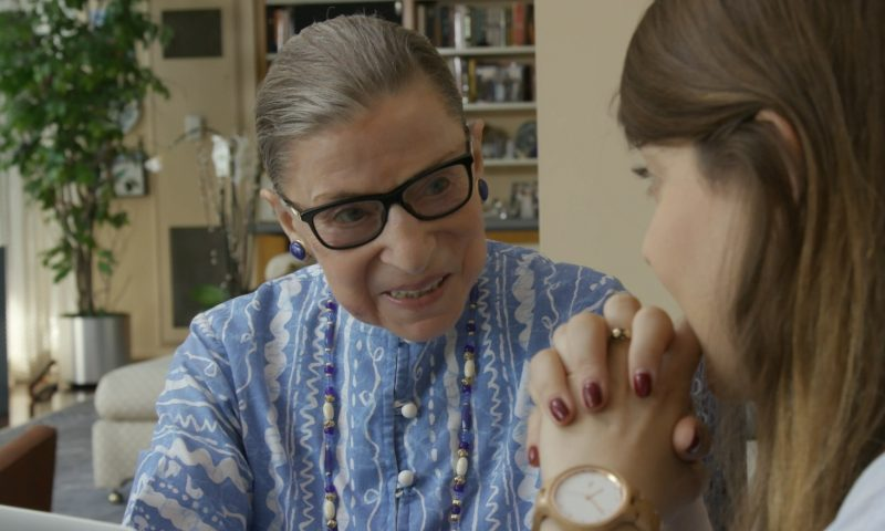 RBG – An Intimate Portrait of Justice Ruth Bader Ginsburg