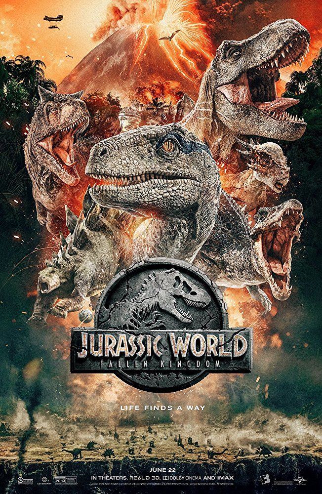 JURASSIC World: Fallen Kingdom – Outstanding visuals.