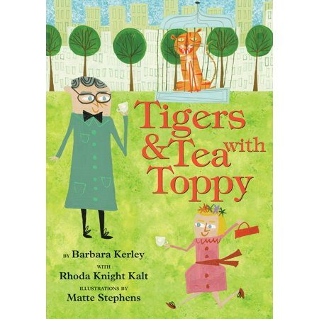 Tigers & Tea With Toppy cover