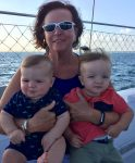Jeanette Perkins and grandsons
