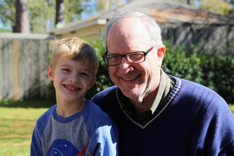 A Walk With My Grandson