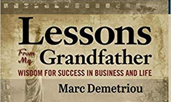 Lessons from my Grandfather cover