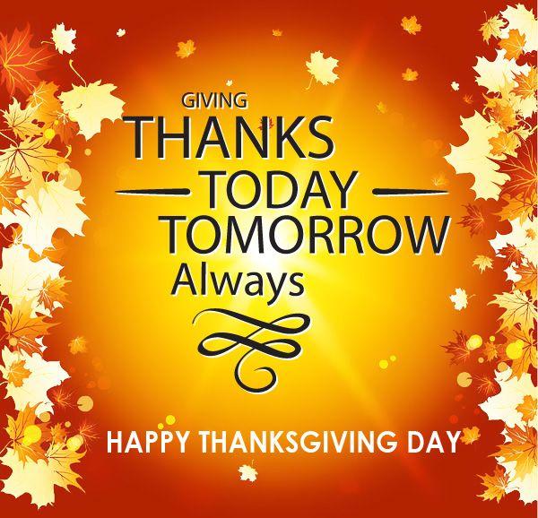 Happy Thanksgiving >> Happy Thanksgiving