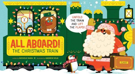 All Aboard the Christmas Train cover
