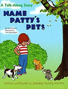 Name Patty's Pets cover