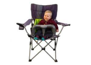 boy in bag chair