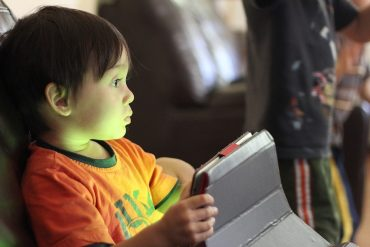 Grandparents Are Spoiling Kids with Too Much Video Screen Access