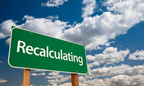 It May Be Time To Recalculate