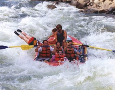 How This Grandmom Spent Her Summer Vacation Rafting