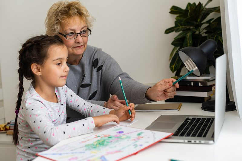 3 Ways to (Really) Support Your Homeschooled Grandchildren