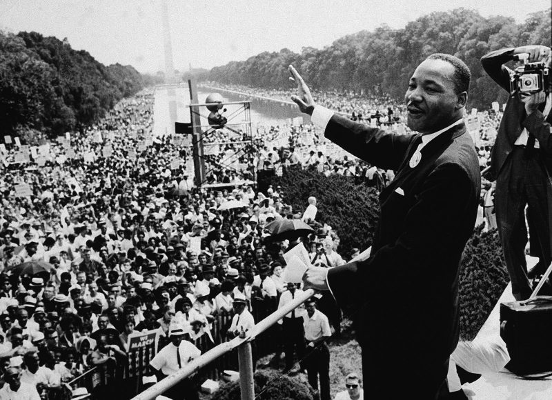 "Martin Luther King Day: ""Bless them that curse you."""