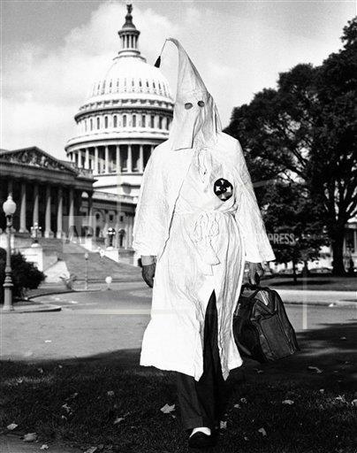 KKK Against Civil Rights
