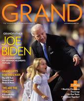 Joe Biden on cover of GRAND Magazine